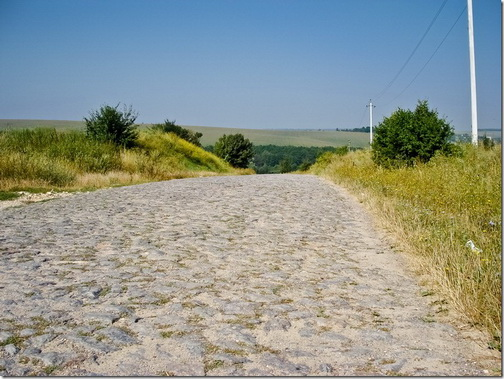 Дорога до Межирова