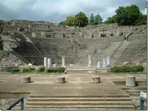 Ліон, римський театр