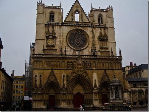 Ліон, собор Сен-Жан