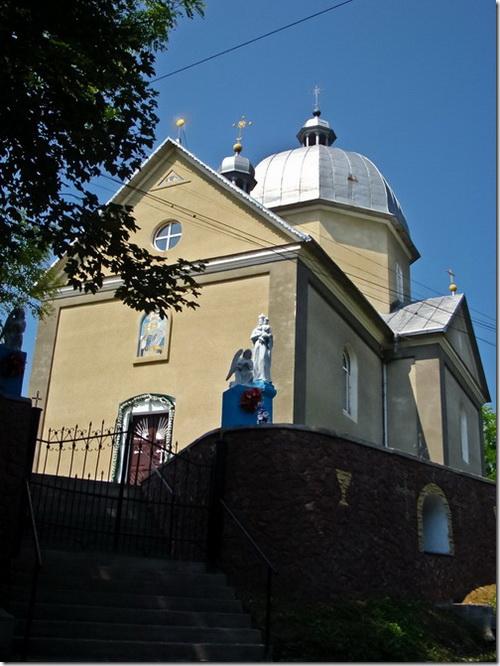 Устечко, церква святої Параскеви