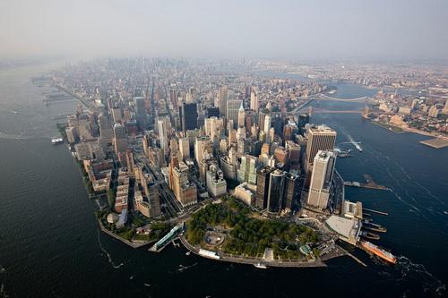 nyc001 Нью Йорк сверху