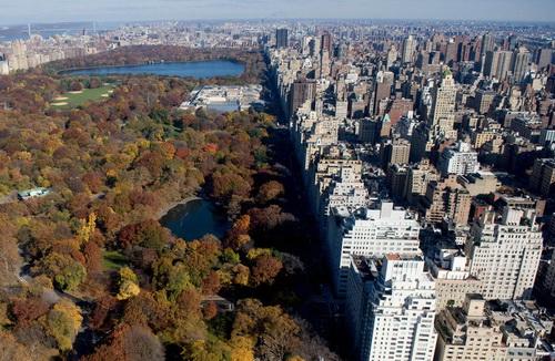 nyc003 Нью Йорк сверху