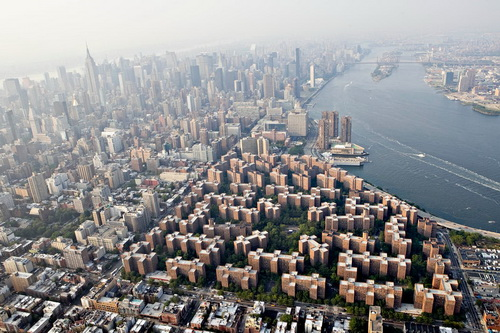 nyc007 Нью Йорк сверху