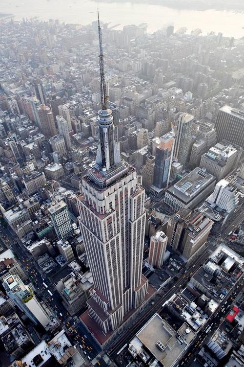 nyc010 Нью Йорк сверху