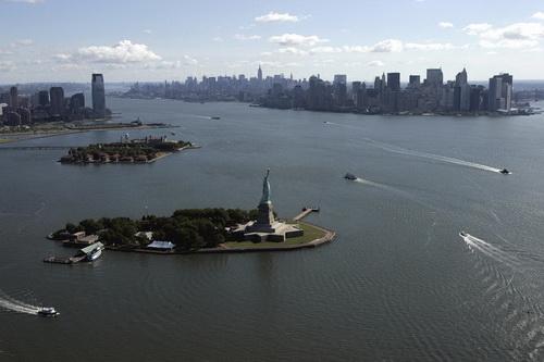 nyc017 Нью Йорк сверху