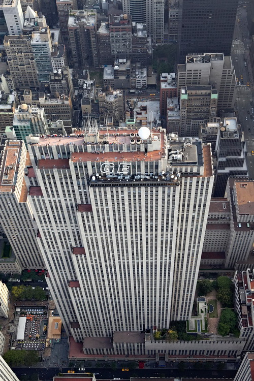 nyc022 Нью Йорк сверху