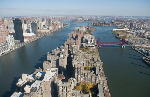 nyc024 Нью Йорк сверху