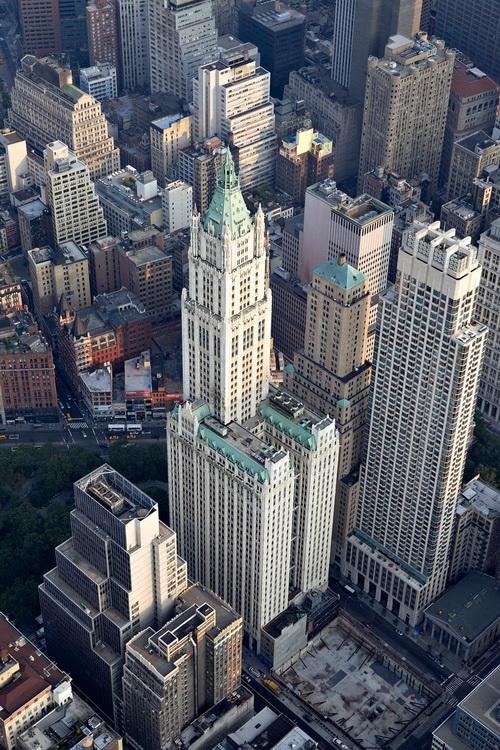 nyc030 Нью Йорк сверху