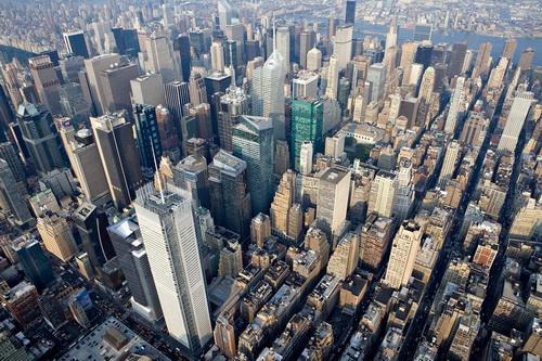 nyc036 Нью Йорк сверху