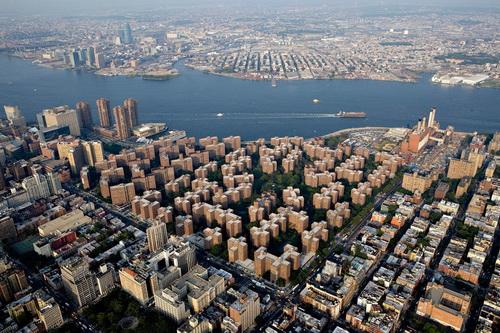 nyc039 Нью Йорк сверху