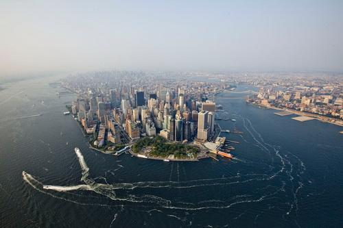 nyc043 Нью Йорк сверху