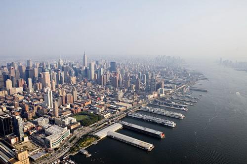 nyc046 Нью Йорк сверху