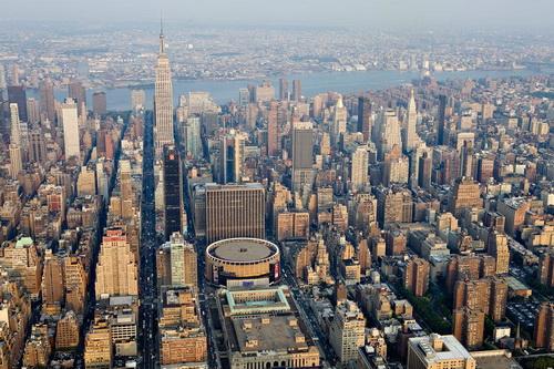 nyc049 Нью Йорк сверху