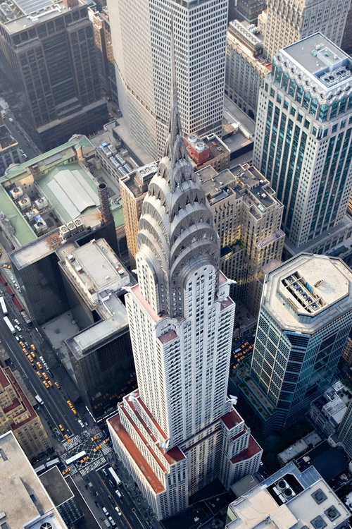 nyc052 Нью Йорк сверху
