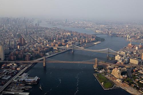 nyc053 Нью Йорк сверху