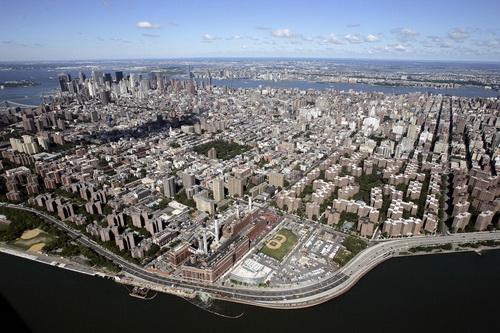 nyc059 Нью Йорк сверху