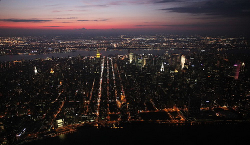 nyc066 Нью Йорк сверху