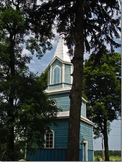 Четвертня, Преображенська церква, дзвіниця