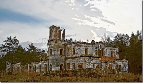 Дениші, палац Терещенків