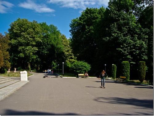 Немирів, палац Щербатової, парк