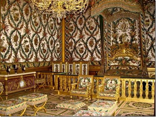 Фонтенбло, замок, спальня королеви Анни