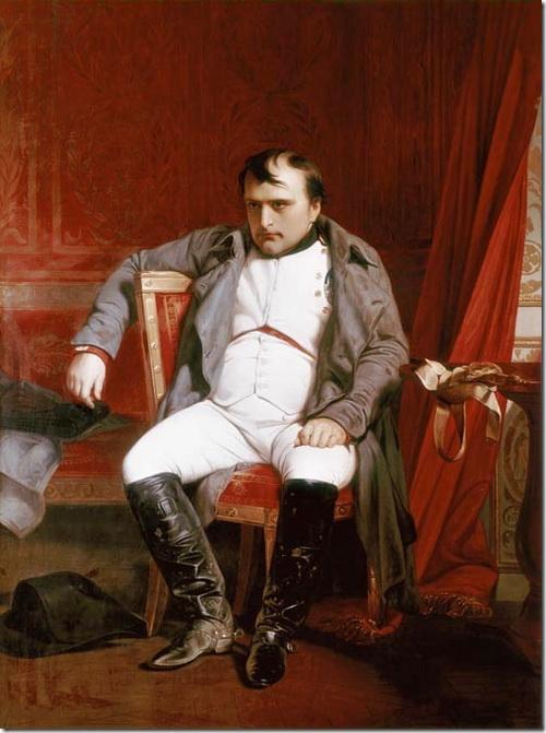 Зречений Наполеон, картина Делароша