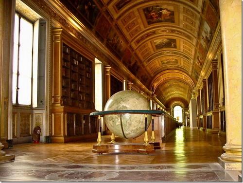 Фонтенбло, замок, бібліотека