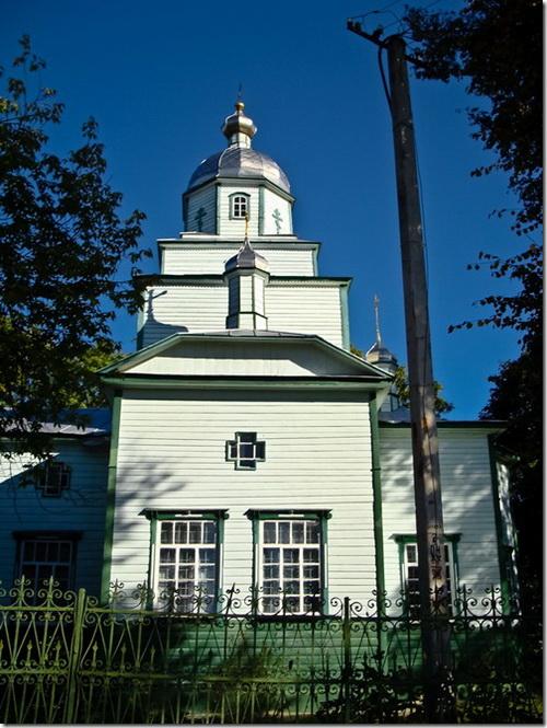 Чоповичі, церква святої Трійці