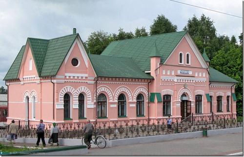 Чоповичі, вокзал. Фото -ALP-