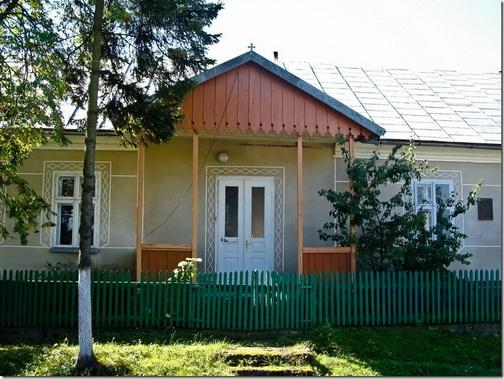 Устя-Зелене, будинок де мешкав Володимир Темницький