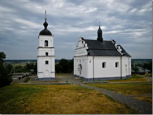 Суботів, Іллінська церква з дзвіницею