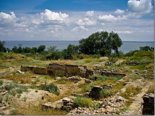Білгород-Дністровський, залишки Тіри