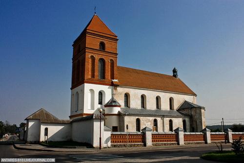Мир, Костел святого епископа Николая