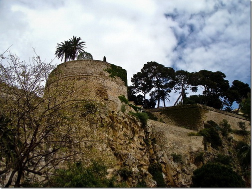 Монако, замкова скеля