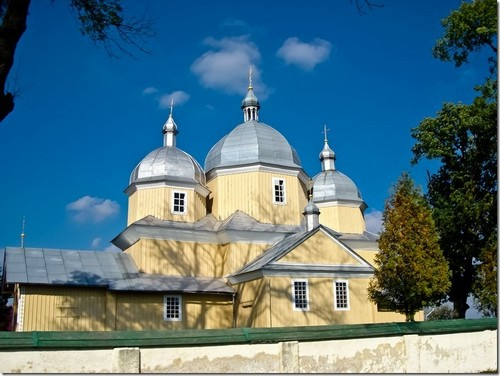 Новий Витків, Преображенська церква