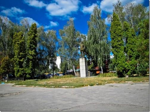 Лубни. Пам'ятник Чапаєву