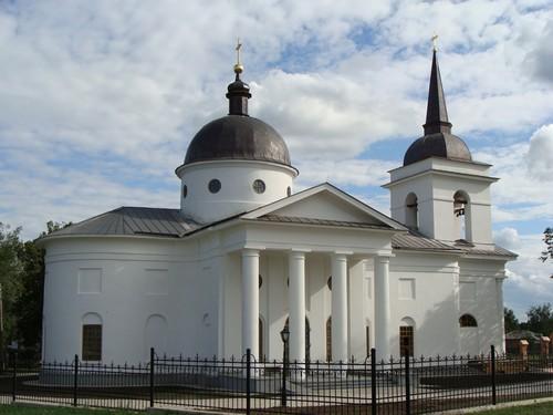 Воскресенська церква, Батурин