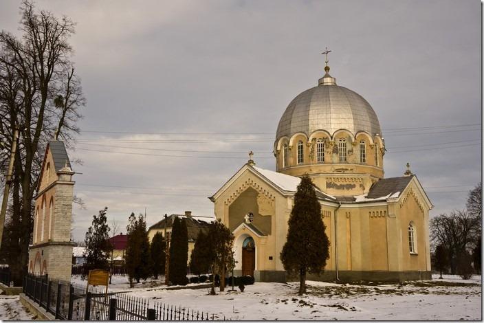 Лівчиці. Церква св. Миколая